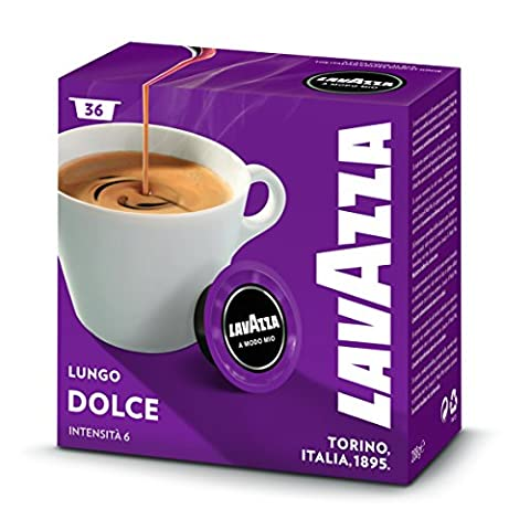 Capsules Cafe Lavazza - Lavazza A Modo Mio Caffè Crema Lungo