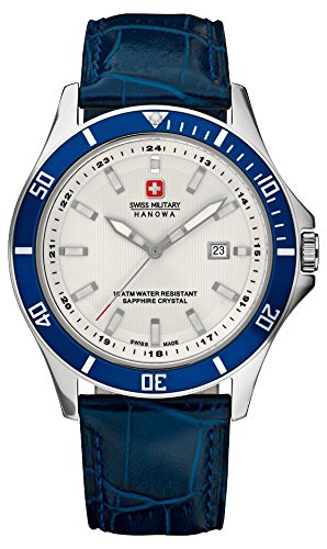 Swiss Military Hanowa Herren-Armbanduhr Analog Quarz 06-4161.7.04.001.03