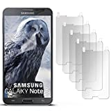 5X Samsung Galaxy Note 3 Neo | Schutzfolie Matt Display Schutz [Anti-Reflex] Screen Protector Fingerprint Handy-Folie Matte Displayschutz-Folie für Samsung Galaxy Note 3 Neo Displayfolie