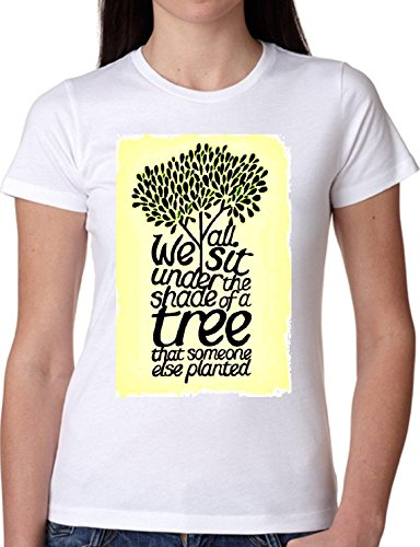 T SHIRT JODE GIRL GGG22 Z1431 SIT UNDER TREE SHADE ZEN THOUGHTS FUN FASHION COOL  BIANCA