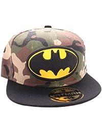 Batman Army Print Logo Casquette Snapback camouflage/noir