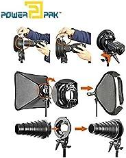 Powerpak Godox S-Type Bracket Holder Elinchrom Mount for Speedlite Flash Snoot Softbox Beauty Dish Reflector Umbrella Holder