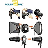 Powerpak Godox S-Type Bracket Holder Elinchrom Mount for Speedlite Flash Snoot Softbox Beauty Dish Reflector Umbrella Holder
