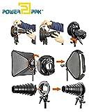 Powerpak Godox S-Type Bracket Holder Elinchrom Mount for Speedlite Flash Snoot Softbox Beauty