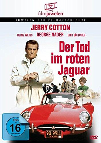 Bild von Jerry Cotton - Tod im roten Jaguar (Filmjuwelen) [DVD]
