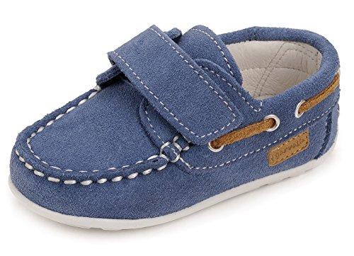 Garvalín 162350, Chaussures de Navigation Garçon Bleu
