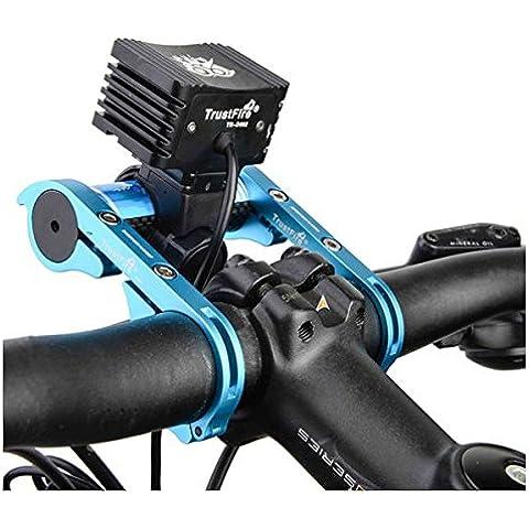 MaMaison007 Bicicleta bicicleta bicicleta manillar apoyo soporte de extensor para el cronómetro