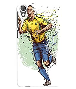Citydreamz Ronaldo/Football/Sports Hard Polycarbonate Designer Back Case Cover For HTC Desire 828