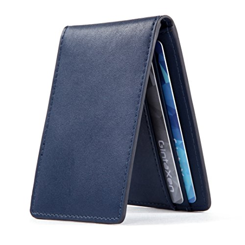 ultra-slim-mini-size-wallet-id-window-card-case-with-rfid-blocking-dark-blue