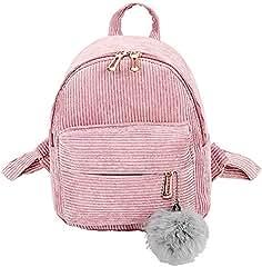 PAOLIAN Bolsos Bolsos mochila para Mujer Bolsos de mano Mini 2018 Otoño Moda  Estudiante de Viaje Pana d9d6dadc27c9