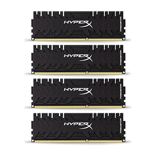 HyperX HX432C16PB3K4/32 Predator DDR4 32GB (Kit 4x8GB), 3200MHz CL16 DIMM XMP