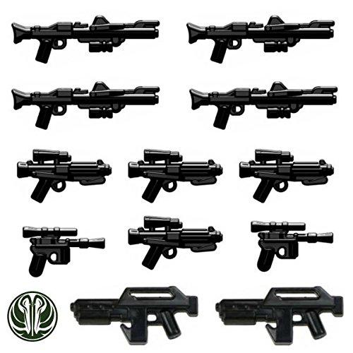 12er Set custom Waffen für Lego® Star Wars™ (Customs Wars Star Lego)