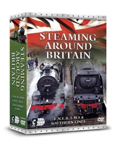 Steaming Around Britain: Lms, Lner And Southern Lines [DVD] [UK Import]