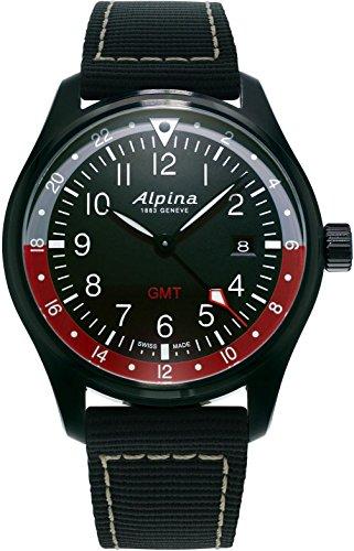 Alpina Schweizer Uhr Startimer Pilot GMT AL-247BR4FBS6