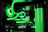 VIBOX Venom GL780T-46 Komplett-PC Paket Gaming PC – 4,5GHz Intel i7 Quad Core CPU, 2x GTX 1080 Ti, leistungsfähig, Wassergekühlter Desktop Gamer Computer mit Spielgutschein, 3x Dreifach 24″ DELL Monitor, Razer Tastatur, Razer Maus, Windows 10, lebenslange Garantie* (4,2GHz (4,5GHz Turbo) Superschneller Intel i7 7700K Kabylake Quad 4-Core Prozessor CPU, 2x Dual SLI Nvidia GeForce GTX 1080 Ti 11GB Grafikkarten, 32GB DDR4 3000MHz RAM, 480GB SSD, 4TB Festplatte, Gewohnheit Wasserkühlung) - 5
