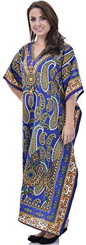 Nightingale Collection - Robe - Femme multicolore Multicoloured Taille Unique Bleu Marine