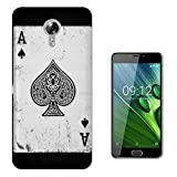 c00581 - Ace Of Spades Playing Cards Casino Poker Black