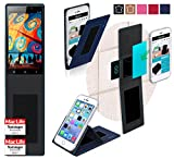 reboon Hülle für Gionee Elife E7 32GB Tasche Cover Case Bumper | Blau | Testsieger