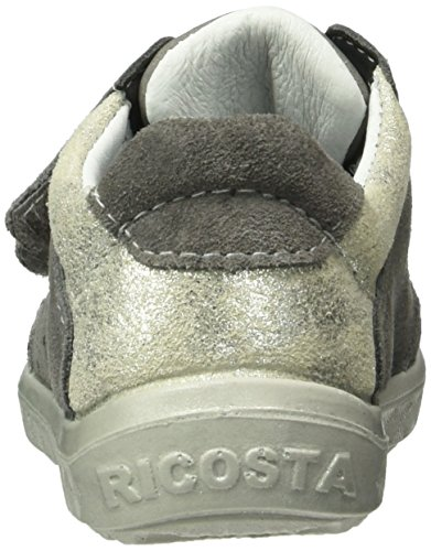 Ricosta Idory, Sneakers basses fille Grau (graphit 488)