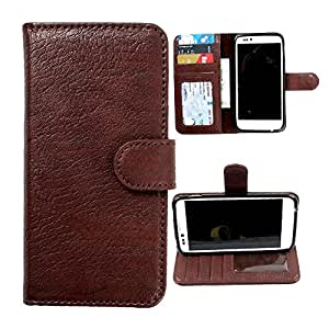 For Blackberry Classic - DooDa Quality PU Leather Flip Wallet Case Cover With Magnetic Closure, Card & Cash Pockets