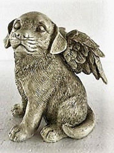"""Zum Gedenken an den treuen Vierbeiner """"Hunde Engel"""" - für das Grab oder als Gedenkfigur"""