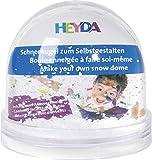 Heyda 204888400 Schneekugel zum Selbstgestalten aus Acryl (3)