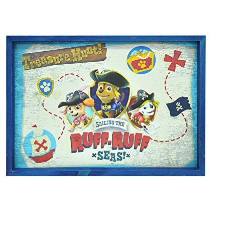 Nickelodeon Paw Patrol Wandbild auf Holzkarte (Nick Jr Store)