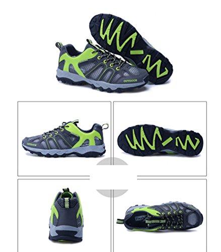 Scarpe da trekking Scarpe da corsa Scarpe casual Scarpe da montagna Scarpe da uomo Antiscivolo Indossabili Elasticità Traspirabilità Prestazioni Sport tempo libero Green