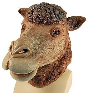 Bristol Novelty BM303 Máscara cubrecabeza de Camello, Talla única