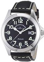 Reloj Zeno Watch Basel 8112-a1 automático para hombre con correa de piel, color negro de Zeno Watch Basel