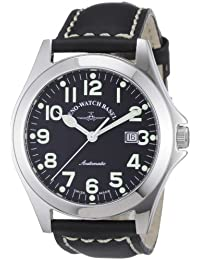 Zeno Watch Basel Men's Automatic Watch Ghandi 8112-a1 with Leather Strap