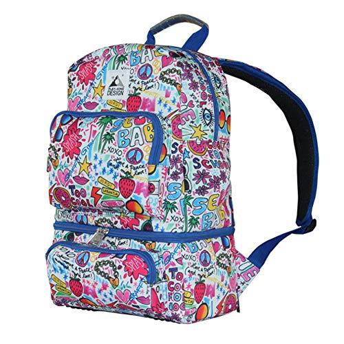 Zaino termico impermeabile picnic lunch bag portable isolamento pacchetto borsa fresh thermal coole tote,b