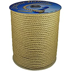 100/m Corderie Italiane 006044062/cuerda yute 6/mm