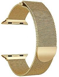 Sales Relojes Accesorios Para, Jodier Correa Banda Magnética de Acero Inoxidable Elegante Fresco Metal Chapado