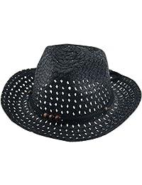 Amazon.es  sombrero paja - Negro   Bebé  Ropa 5fa911ccfb9