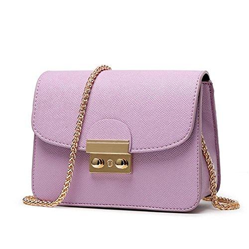 GBT Art und Weisehandtaschen-Schulterbeutel Purple