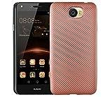 QiongniAN Hülle für Huawei Y6II Compact LYO-L21/Y6II Compact 4G LYO-L01/Y6 II Compact/Y5II CUN-L33 CUN-L23 CUN-L03/Y5 II CUN-L01 4G Hülle TPU Soft Schutzhülle Case Cover Pink