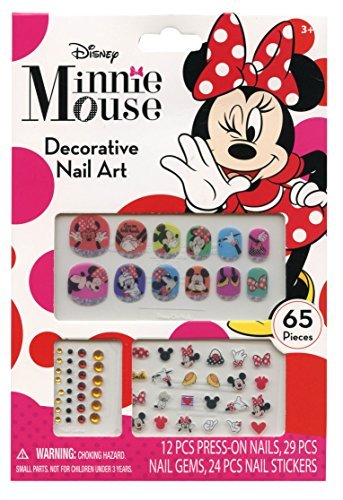 Disney Minnie Mouse Bowtique 65 Piece Decorative Nail Art Kit by Disney