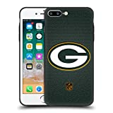 Head Case Designs Offizielle NFL Fussball Green Bay Packers Logo Skinny Fit Hybride Durchsichtig Hülle für Apple iPhone 7 Plus/iPhone 8 Plus