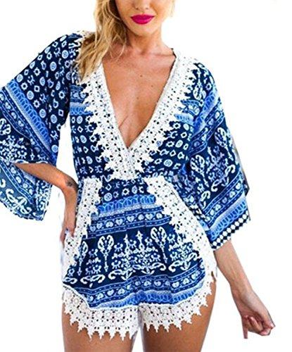 davidlove-women-jumpsuit-vintage-floral-deep-v-neck-lace-party-jumpsuit-romper-playsuit-m-blue
