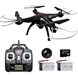 HOBBYTIGER Syma actualizado Drone X5SC-G Explorers + 2 batería RC Quadcopter HD cámara RTF 4 Channel 6 Axis Remote Control