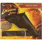 Rubie's - Cinturón, pistola y pistolera de Indiana Jones