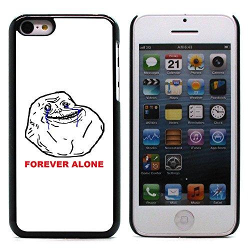 Graphic4You Like A Boss Internet Meme Design Harte Hülle Case Tasche Schutzhülle für Apple iPhone 5C Forever Alone