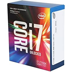 Intel - Core i7 - 7700 K 4.2 GHz 8 MB Smart Cache boitier