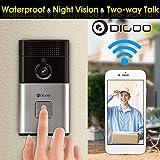 DIGOO Smart Home DoorBell Camera Phone Ring with HD Video Bluetooth WIFI