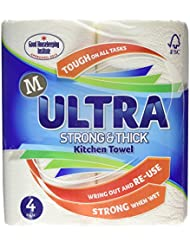 Morrisons Kitchen Towel Ultra White, 4 Rolls