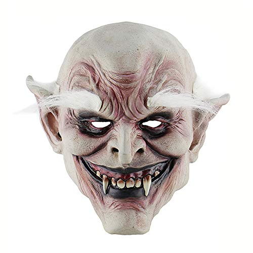QAQ Lustige gruselige Halloween Monster Cosplay Kostüm Maske Party Dekoration Requisiten Machen Happy Halloween (Gruselig Lustige Kostüm)