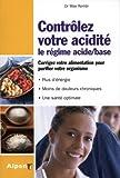 Contrôlez votre acidité