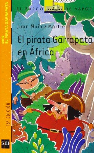 el-pirata-garrapata-en-africa-barco-de-vapor-naranja