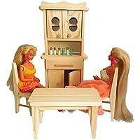 Cucinetta Giocattolo In Legno Di Pino Per Bambole E Bambole (Childrens Naturali Mobili)